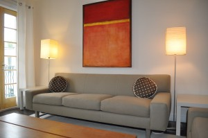 Living Room and Sofa Painting